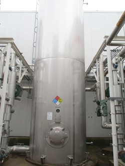 1 - Apache 7,500 Gallon Stainless Storage Tank