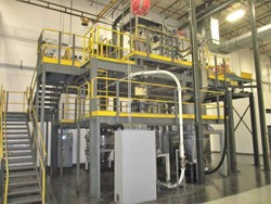 1 - Nol-Tec Mezzanine Mounted Anode Dry Material Mixing System