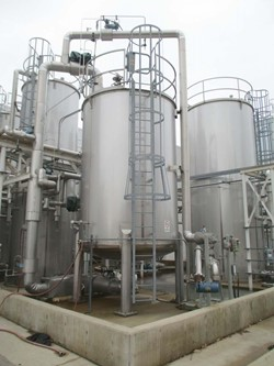 1 - Apache 5,000 Gallon Stainless Storage Tank