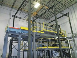1 - Nol-Tec Mezzanine Mounted Cathode Dry Material Mixing System
