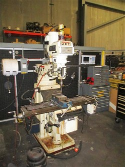 1 - Jet Vertical Milling Machine