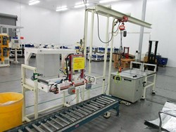 1 - Semi-Automatic Cathode Packaging Line