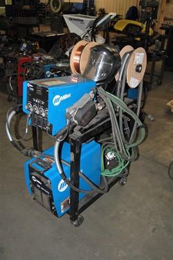 1 - Miller XMT 350 CC/CV Autoline Welding Power Source