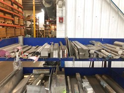 1 - Lot of Assorted Aluminum, Stainless, Plastic Raw Material