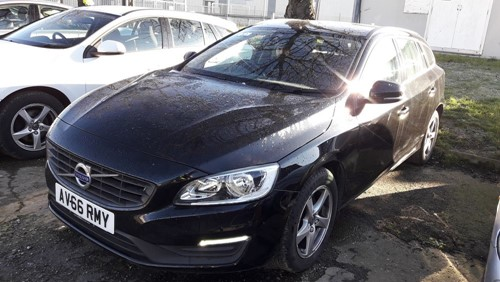 Canute Transport Online Auction 1 Volvo V60 Business