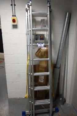 1 - Zarges Alloy Triple Extending Ladder