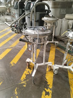 1 - Trolley Mounted Motorised Sieve