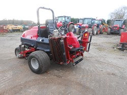 1 - LM2700  Baroness Ride-On 5 Unit Fairway Mower