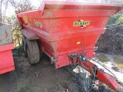1 - M19  Herbst 17000kg gvw Twin Axle Hydraulic Dump Trailer