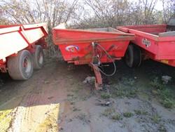 1 - M106  Warwick Bros 5.5 Tonne gvw Low Ground Pressure Dump Trailer