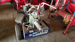 1 - Irtec 2in Single Axle Trailer Mounted Irrigation Pump