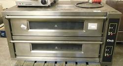 1 - Moretti Forni Double Deck 3 Phase Electric Pizza Oven