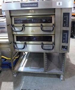 1 - Moretti Forni PM799ED Double Deck 3 Phase Electric Pizza Oven