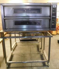 1 - Moretti Forni id10/65D Double Deck Pizza Oven