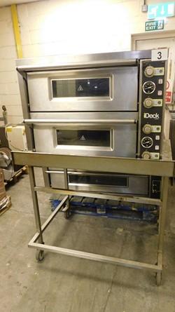 1 - Moretti Forni PD60.60 Double Deck Pizza Oven