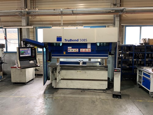 STK - For Sale - 1 - Trumpf TruBend 5085 CNC Press Brake