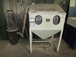 1 - Cyclone 3624HD Shot Blast Cabinet