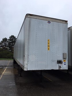 1 - Lufkin TFV-IPST 36192 53' Tandem Axle Van Trailer
