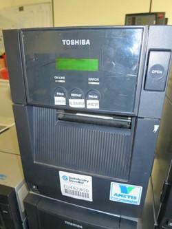 1 - Toshiba B SA4TM GS12 QM R Barcode Printer