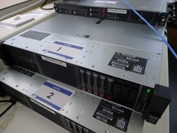 1 - HP Proliant DL 380 Gen 10  Xeon  Rackmount Server