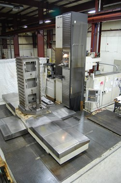 1 - MAG / Giddings & Lewis RTC 1600 CNC Horizontal Boring Mill