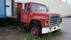 1 - International Single Axle Flatbed Truck