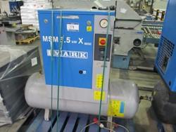 1 - Mark MSM 5.5kwx Mini 200L Received Mounted Air Compressor