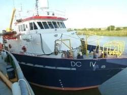 1 - DC IV  Utility / Service Dive Marine Vessel