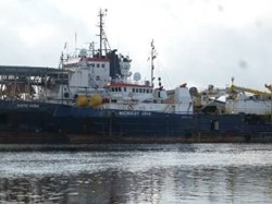 1 - MIDNIGHT STAR  Diving Support Marine Vessel