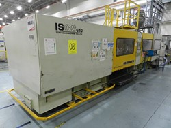 1 - Toshiba ISGS 610 610-Ton Injection Molding Machine