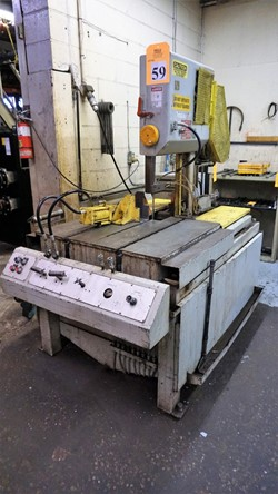 1 - DoAll TF-14 Metal Cutting Vertical Band Saw
