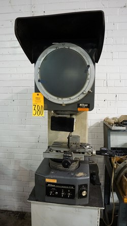 1 - Nikon V-12 Profile Projector