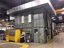 1 - Binks 83-2448 Complete Finishing System Cross Flow Paint Booth