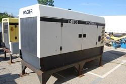 1 - Wacker G180 180 kVa Diesel Generator