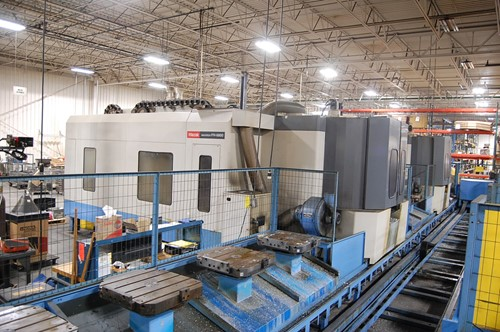 CNC Machining and Support Equipment