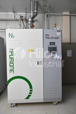 1 - TERATECH Model TPN-CA-100N  N2 Purifier (Regen Type)