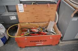 1 - SPX 17-1/2 Ton Hydraulic Puller