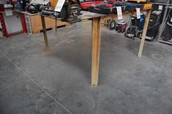1 - 5' x 5' Steel Welding Table