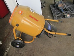 1 - Westward 10N694 4-3/4 Cu.Ft. Wheelbarrow Mixer