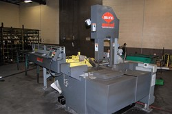 1 - Marvel E380A PC-60 Fully Automatic Vertical Band Saw