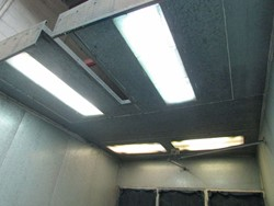 1 - 10' W x 15' D x 10' H Paint Booth