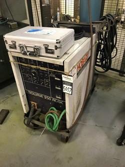 1 - Hobart Tiwave 250 Mobile AC/DC Tig Welder