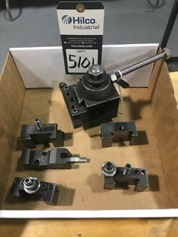 1 - Lot Lathe Quick Change Tool Post Tool Holder