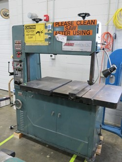 1 - MSC Industrial Supply Co. 951467 Vertical Band Saw