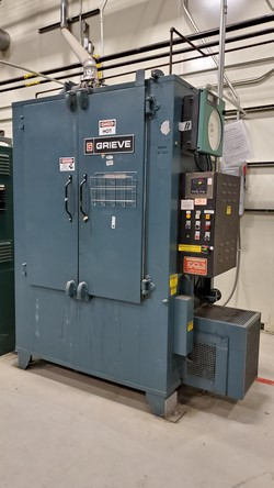 1 - Grieve HB-500 500°F Electric Oven