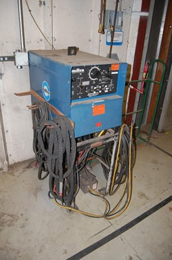 1 - Miller Dial Arc HF CC AC/DC Arc Welding Power Source