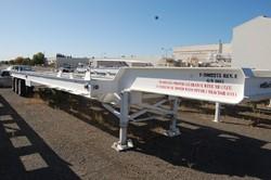 1 - Atlas ST-3  132,000 Lb Capacity Case Transport Trailer