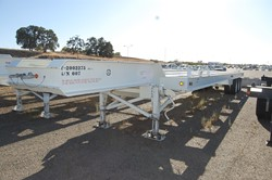 1 - Atlas ST-3  132,000 Lb Capacity Case Transport Trailer