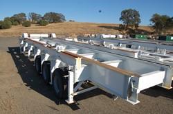 1 - Martinez-Turek  132,000 Lb Capacity Loaded Motor Transport Trailer