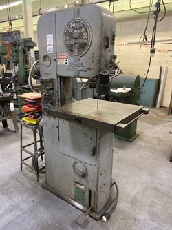 1 - DoAll ML Vertical Band Saw
